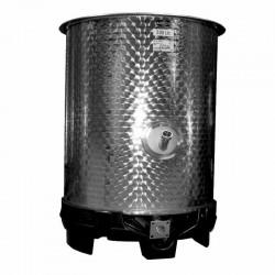 Cuve inox mélangeur 530 L