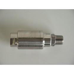 Clapet anti-retour mâle/femelle pour VISUALGAS- 316