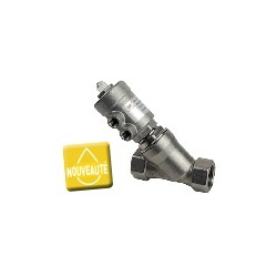 "Vanne pneumatique DN20 FF GAS 3/4""-inox"