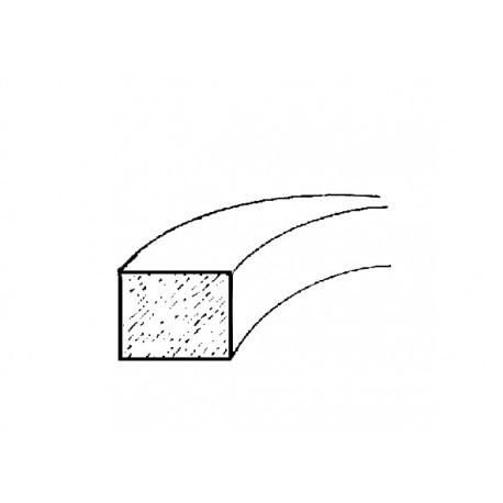 PROFILÉ GOMME SOUPLE - Rectangle 15 x 10